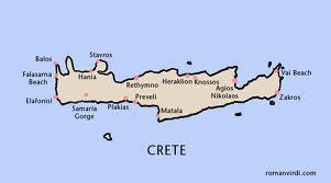 kart kreta vest Luksusferie på Kreta kart kreta vest